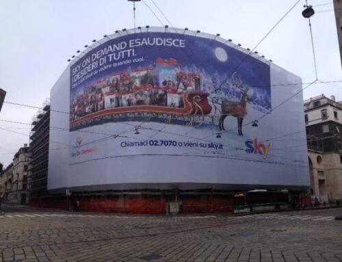 Ponteggi CA Brutta Milano Via Moscova